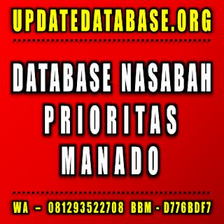 Jual Database Nasabah Prioritas Manado