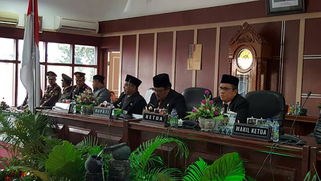 Bupati dan Pimpinan DPRD Labuhanbatu Tandatangani Persetujuan Bersama RPJMD