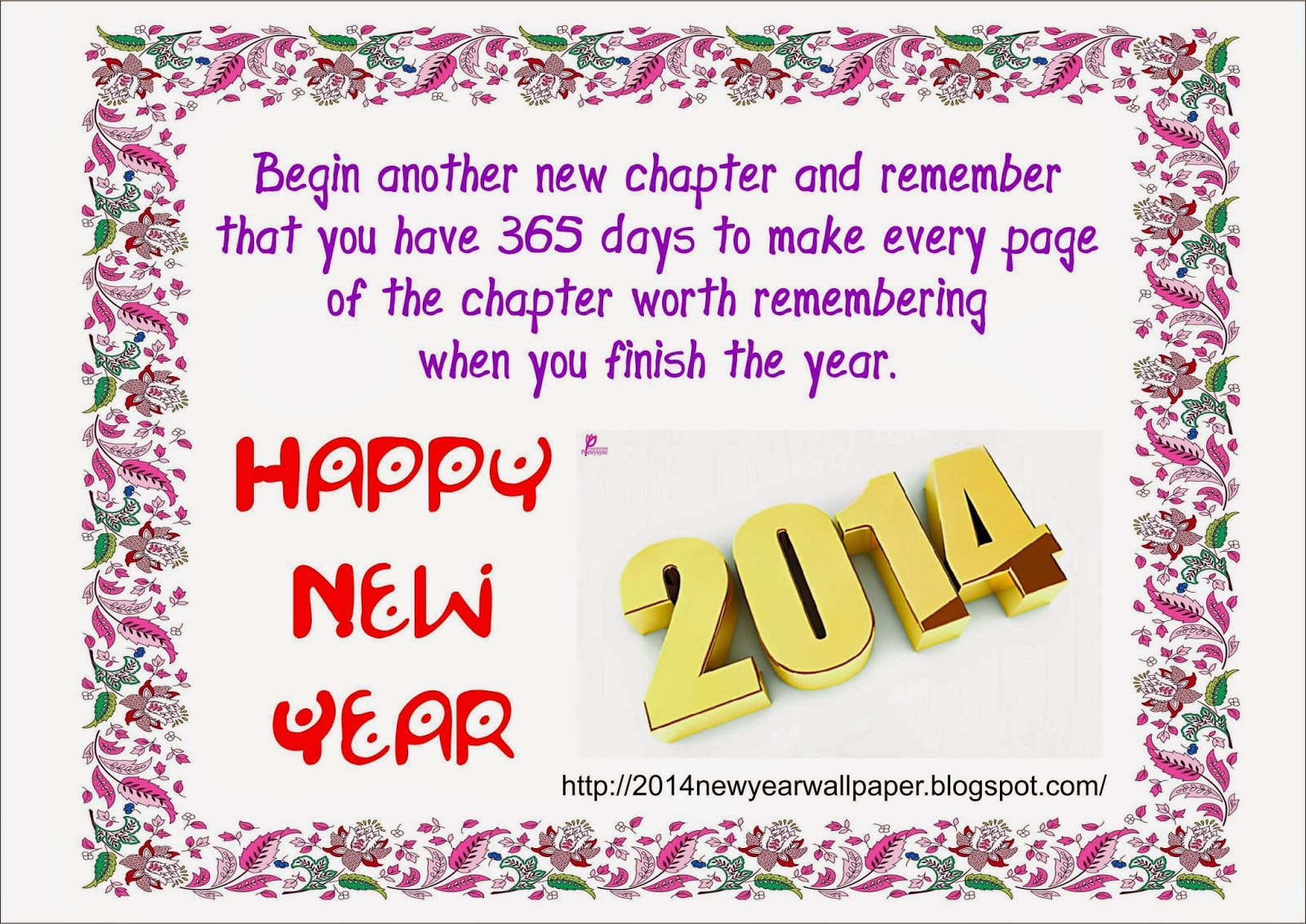 Happy New Year 2014 Wishes - Greetings -sms wallpaper ...