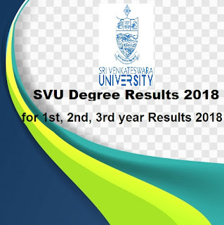 Manabadi SVU Degree Results 2018, SV University Results 2018 Schools9