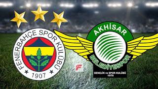 Fenerbahçe - Akhisarspor maçını canlı izle