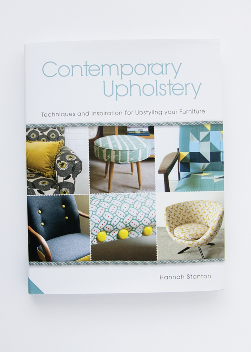Contemporary Upholstery Book by Hannah Stanton