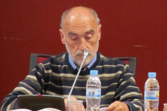 Juan Luis Melchor Sortura, durante el pleno de constitución de la Corporación en 2011
