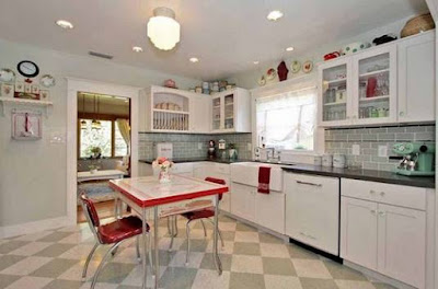 Contoh Keramik Lantai Dapur Minimalis