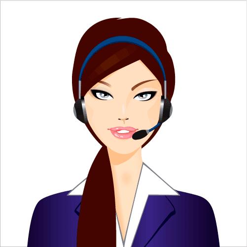 Atención al cliente - Vector