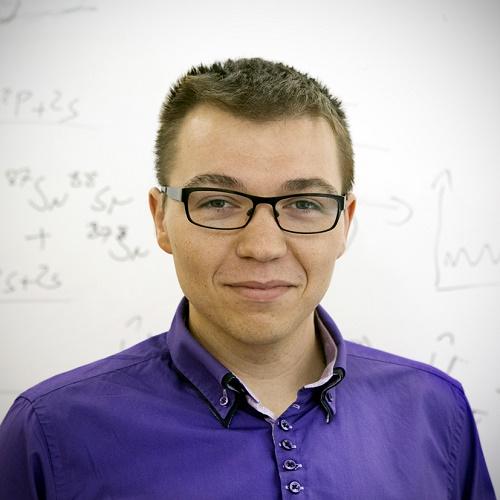 dr Michał Tomza z Centrum Nowych Technologii UW, laureat drugiego konkursu w programie HOMING; fot. Magdalena Wiśniewska Krasińska.