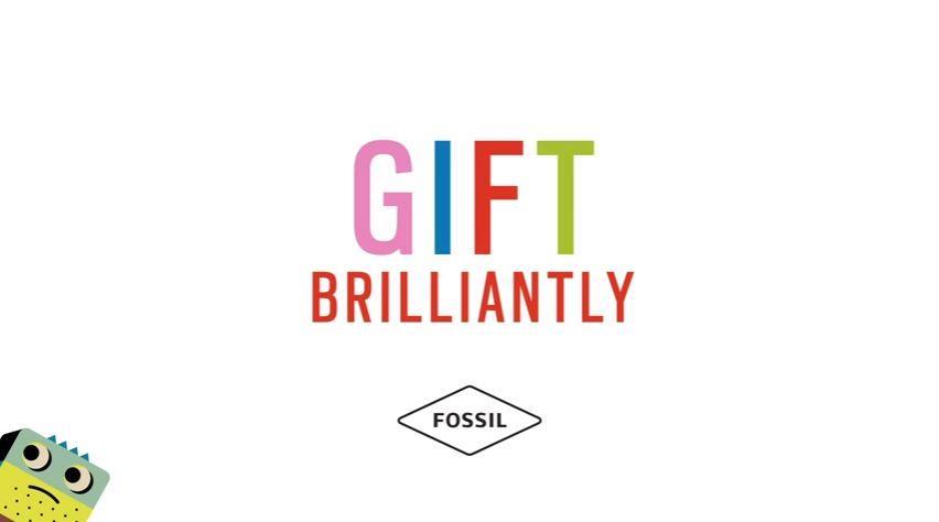 Canzone Fossil pubblicità Natale con Gift Brilliantly - Musica spot Novembre 2016