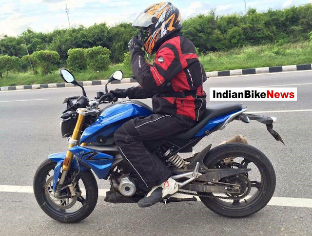 TVS-BMW-G310R-Spotted-Testing