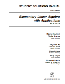 Elementary Linear Algebra Howard Anton 7th Edition Pdf