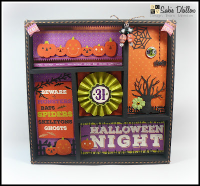 It's a Halloween shadowbox time!