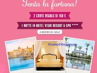 Logo Gioca ogni giorno e vinci gratis un weekend da sogno in Sicilia