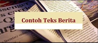 CONTOH TEKS BERITA SINGKAT TENTANG PENDIDIKAN