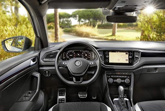 Volkswagen T-ROC - painel