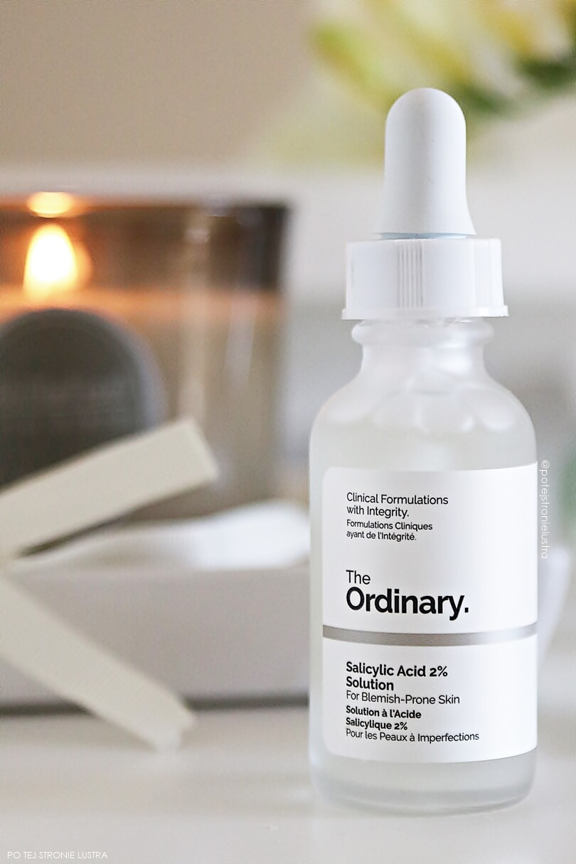 the ordinary salicylic acid 2% solution for blemish-prone skin