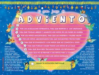 Gran juego del Adviento misionero para niños