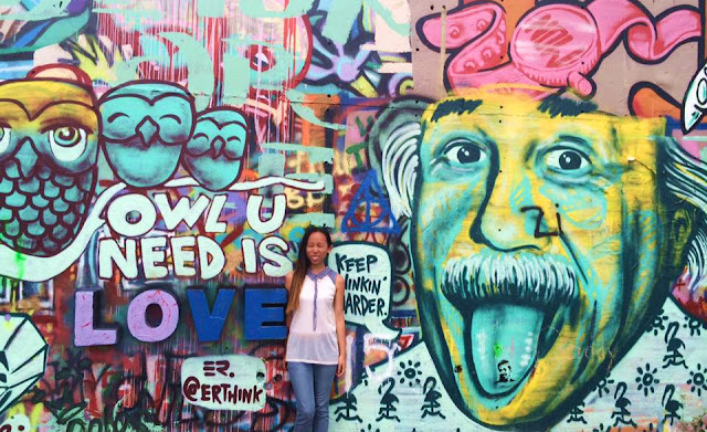 Graffiti Park, Austin, Texas, Miss Happy Feet, Vivian Lee