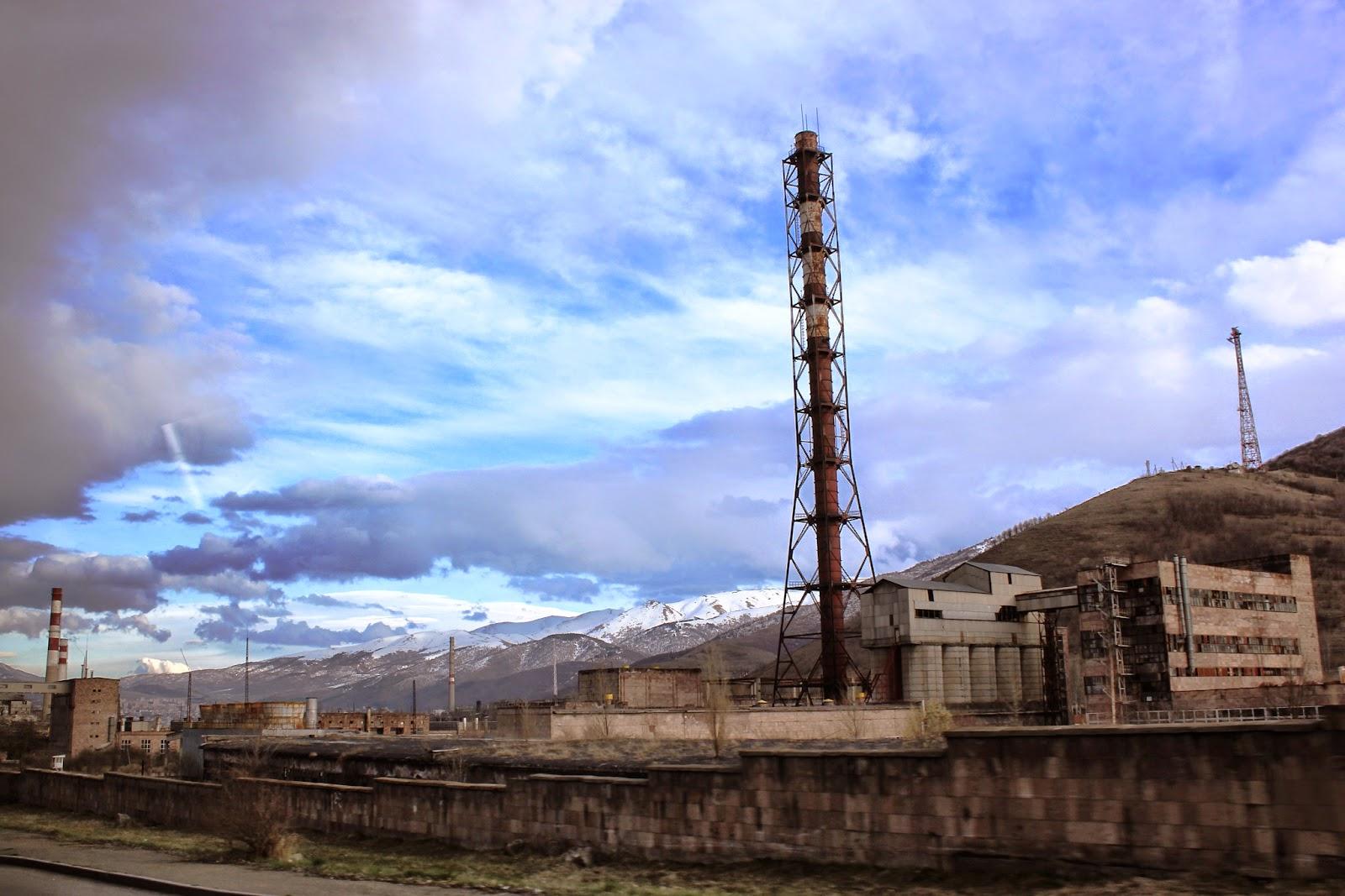 Armenia wymarłe miasta