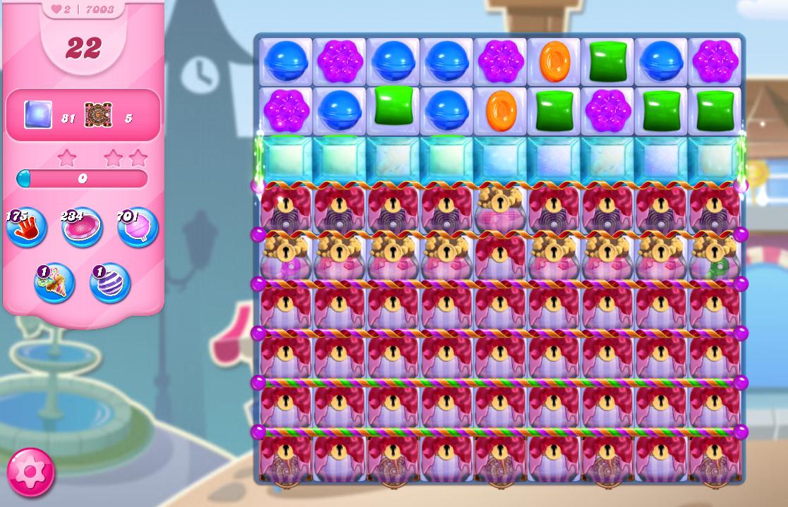 Candy Crush Saga level 7003