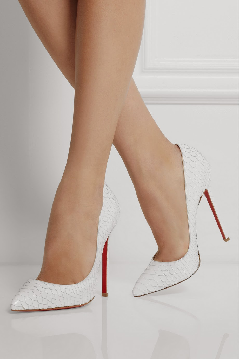 new arrival 7ef79 9ed98 louboutin shoes white