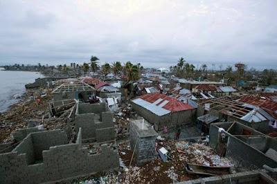 Haiti hårt drabbat av orkanen Matthew, över 1 000 döda