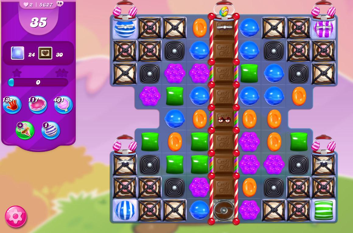 Candy Crush Saga level 5627
