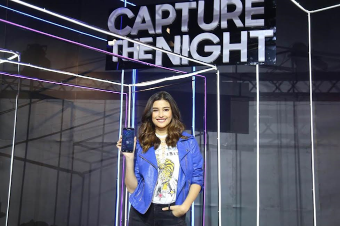 Liza Soberano captures the night with the new Samsung Galaxy J7 Pro
