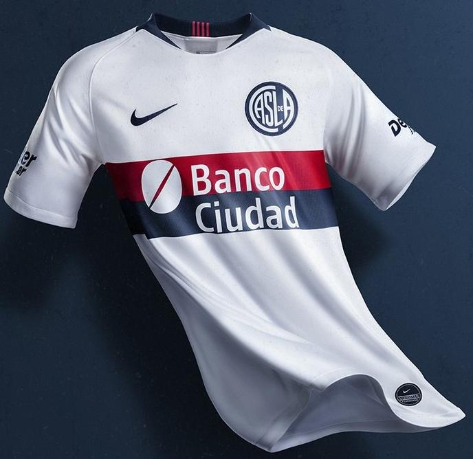Nike lança a nova camisa reserva do San Lorenzo - Show de Camisas 2be0ec3422b69