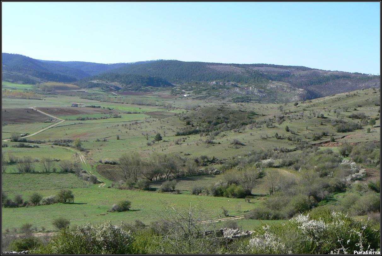 Parte final del valle de Vega Del Codorno