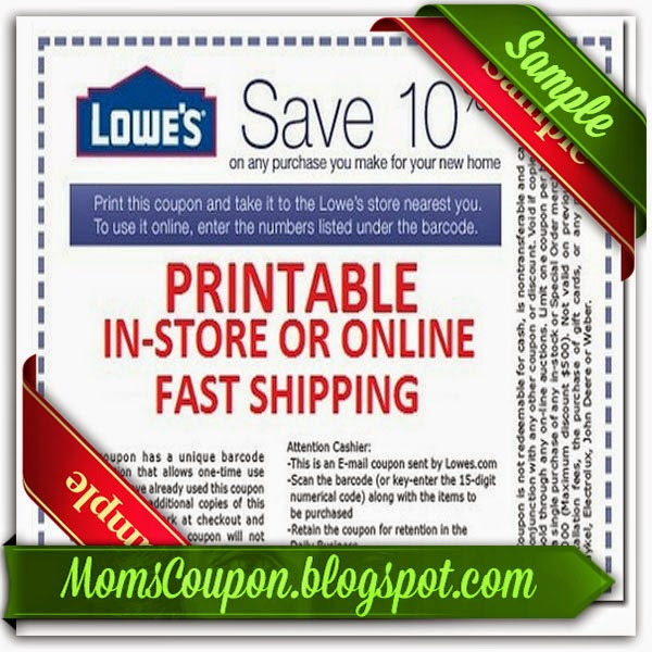 lowes offer codes