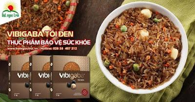 Gạo mầm vibigaba TỎI ĐEN giá 120.000VNĐ/Kg
