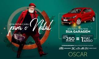 Promoção Oscar Calçados Natal 2018 Carro 0KM FIAT Argo