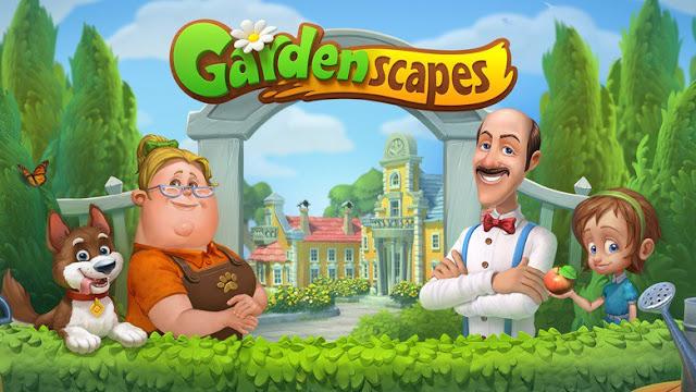 Gardenscapes Spielstand