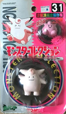 Clefable Pokemon figure Tomy Monster Collection series