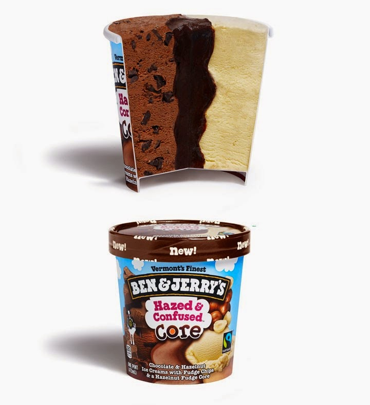 Ben and Jerry's - Hazed and Confused Core