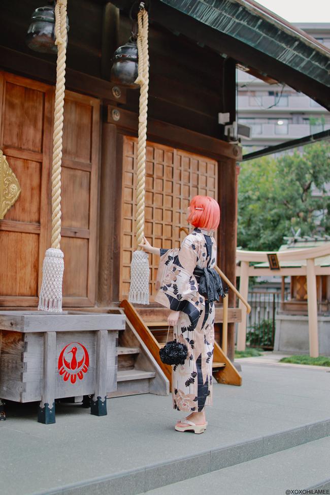 Japanese Fashion Blogger,MizuhoK,20190719,OOTD Yukata