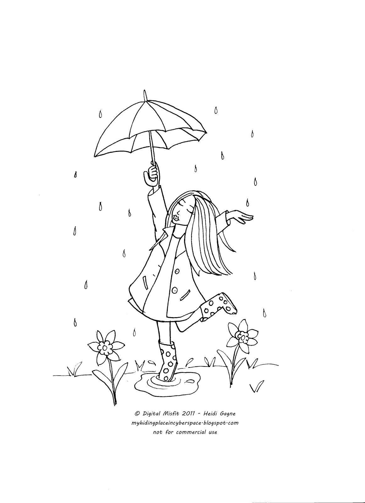 Feeling Stitchy April Showers Stitch Along