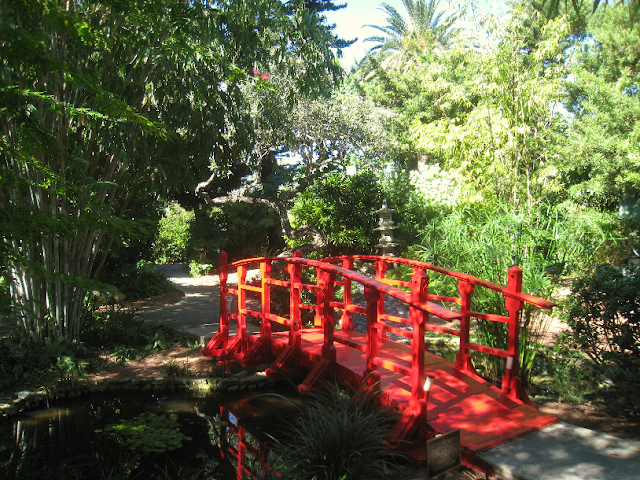 Miami Beach Botanical Garden: ponte sobre lago