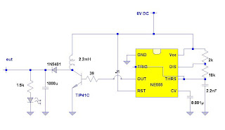 6v To 12v Dc Dc Boost Converter By 555 Timer Electronic
