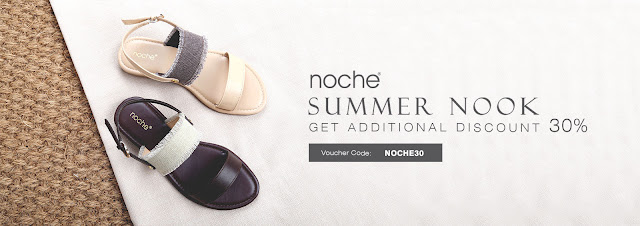 9to9 - Voucher Diskon s.d 30% Brand Noche ( Summer Nook )