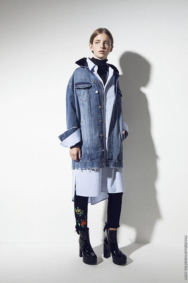 Camperas otoño invierno 2018 ropa de mujer.