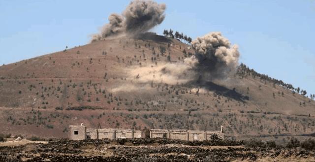 Israel menyerang pangkalan militer Suriah di Aleppo