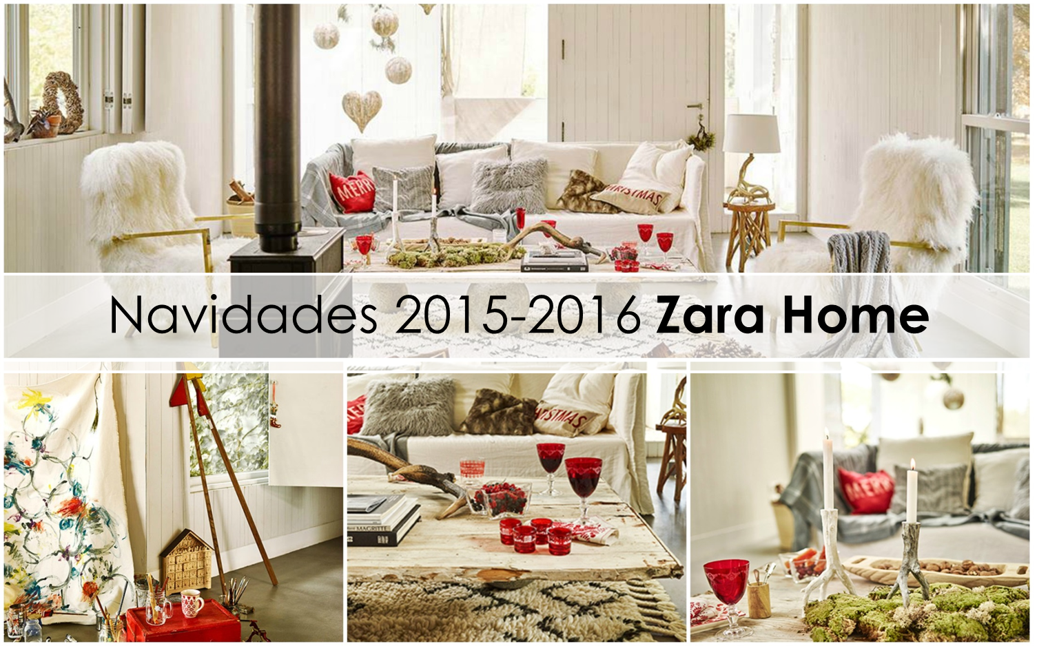 Decoraci n f cil navidad 2015 2016 de zara home for Decoracion hogar tendencias 2015
