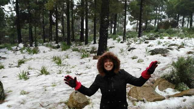 Vídeo y fotos temporal Canarias 18 febrero