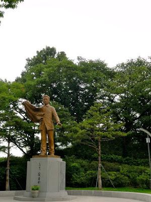 Monument at Namsan Park Seoul