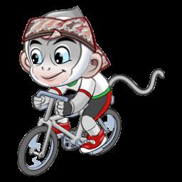 Logo dan Lambang Cabang Olahraga PON Jabar 2016 Balap Sepeda