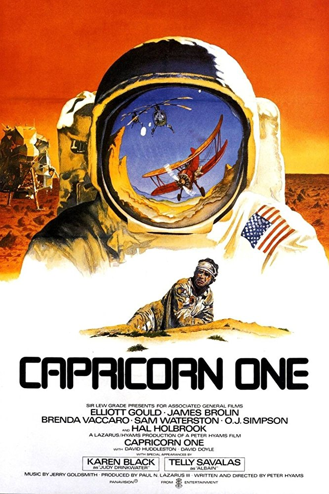 Capricorn One (1977) ταινιες online seires xrysoi greek subs