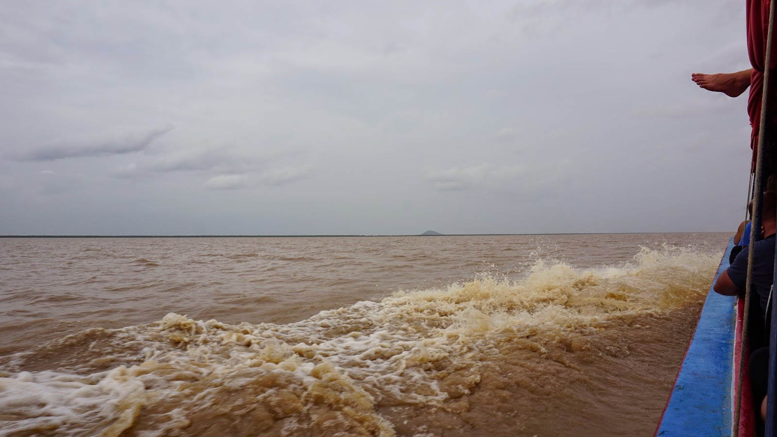 Tonle Sap, the largest freshwater lake in Southeast Asia