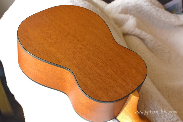 Ohana SK-14 soprano ukulele back