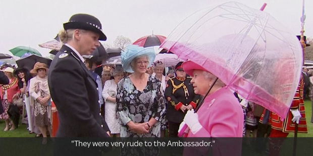 China censors TV footage of Queen Elizabeth II criticising 'very rude' officials