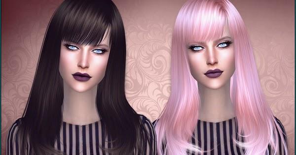 My sims 4 blog romance hair by anto